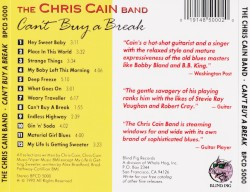 The Chris Cain Band - My Baby Left This Morning