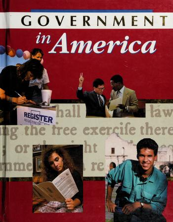 Cover of: Government in America (Teacher's Annotated Edition) |