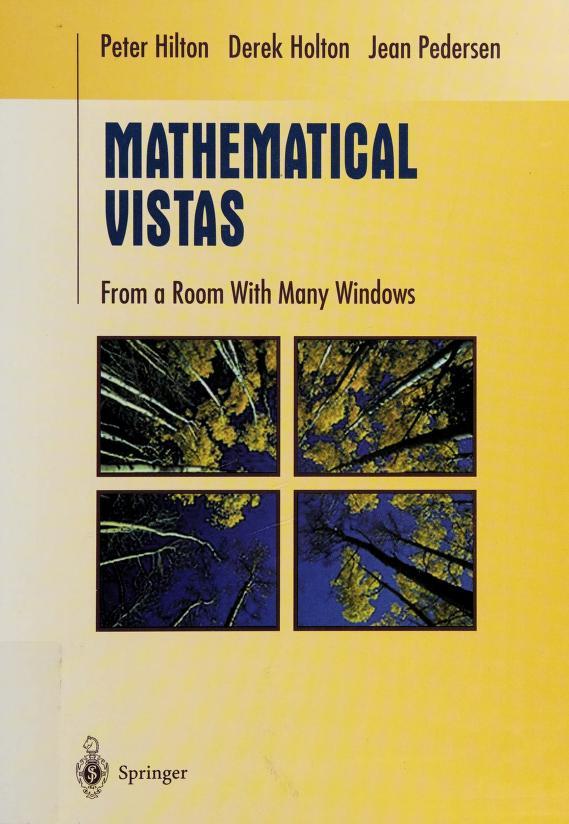 Mathematical vistas by Peter John Hilton