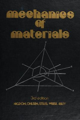 Cover of: Mechanics of materials | Archie Higdon ... [et al.].