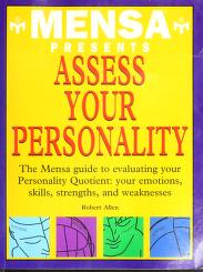 Cover of: Mensa Presents Assess Your Personality | Robert Allen