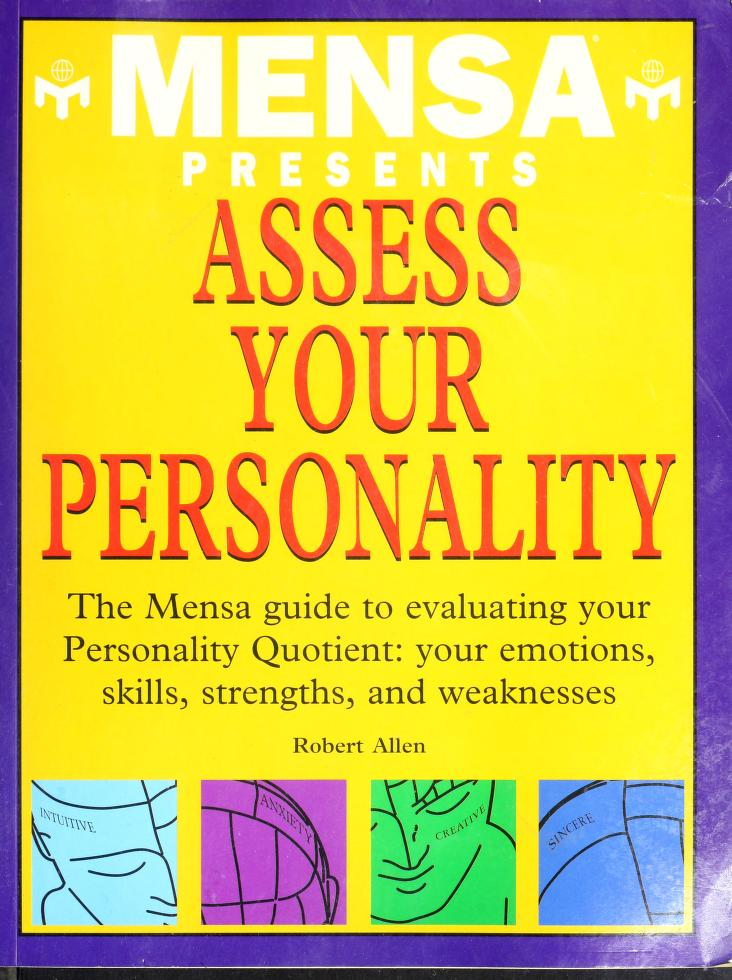 Mensa Presents Assess Your Personality by Robert Allen