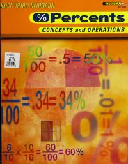 Cover of: Percents Concepts and Operations (Best Value Drillbook) |