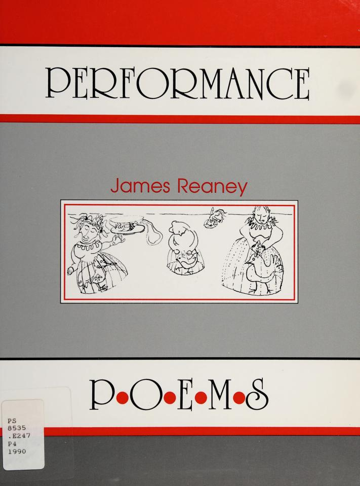 Performance by James Reaney
