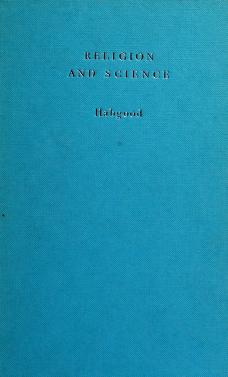 Cover of: Religion and science | John Stapylton Habgood