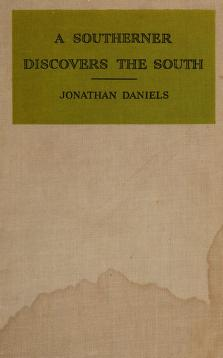 Cover of: A southerner discovers the South   Jonathan Daniels