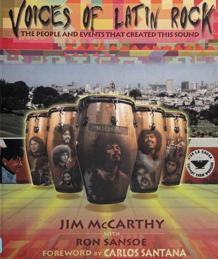 Voices of Latin rock by Jim McCarthy